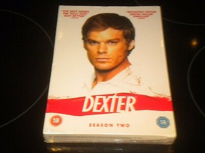 Dexter - Season 2 - 5 DVD Box Set - PAL Region 2 - NEW AND SEALED
