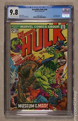 Incredible Hulk (1962-1999 1st Series) #198 CGC 9.8 1497112016