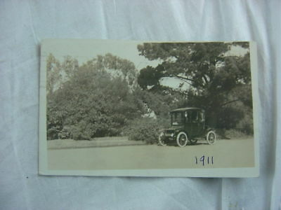 Vintage Photo Postcard 1911 Waverley Electric Car 808