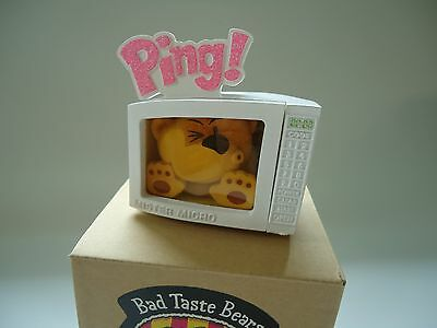 Bad Taste Bears Mike microwave novelty collectible figure NEW old stock NOS