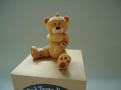 Bad Taste Bears Drew tattoo bear novelty collectible figure NEW old stock NOS