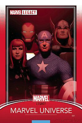 Marvel Legacy #1 Christopher Trading Card Variant Marvel Comics Captain America