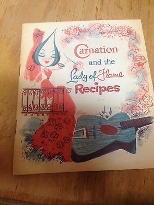 Carnation and the Lady of Flame Recipes, Booklet 1958 Ephemera