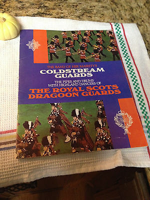 Band of Her majesty's Goldstream Guards /Royal Scots Dragoon Guards.Program 1981