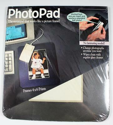 Click Products PhotoPad Mousepad Holds Frames 4x6 Prints Photos NEW