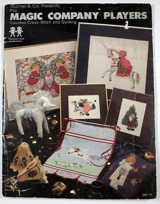 Vanessa-Ann Collection Magic Company Players Cross Stitch & Quilt Pattern Book
