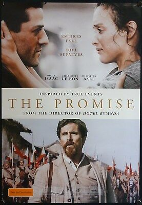 The Promise (2016) Australian One Sheet CHRISTIAN BALE