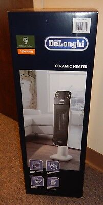 DeLonghi  Digital Ceramic Tower Heater with Remote Control 1500W Digital Timer