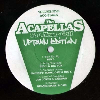 Various Artists  ‎– The Acapellas You Never Got! Volume Five - Uptown Edition