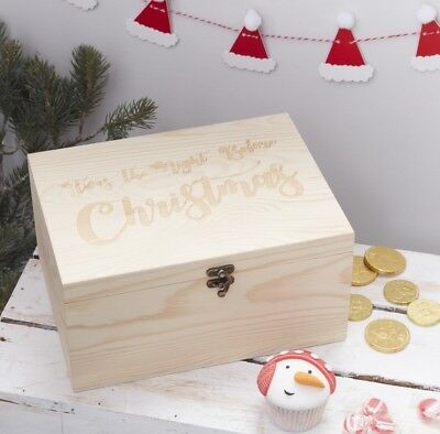 Twas The Night Before Christmas Wooden Xmas Eve Box