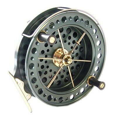 """NEW J W Young Heritage Centrepin Fishing Reel - 4.5"""" x 3/4"""" - 28970"""