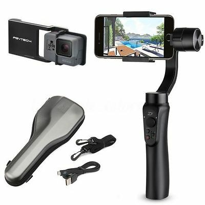 Zhiyun Smooth-Q Handheld Stabilizer Gimbal for iphone 8 X for Gopro for SJCAM