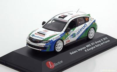 1:43 J-Collection Subaru Impreza WRX STi Group N #61 Rally France 2012