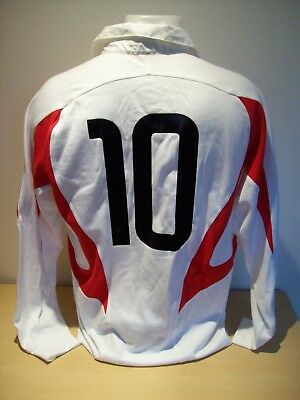 England 2002 Rugby Signed International Player Issue Shirt AFTAL/UACC RD