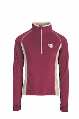 Horseware AW17 Fiona Half Zip Fleece - Berry