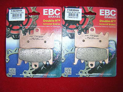 BMW R 1200 GS Adventure 2014-2015 EBC FA630HH Front Sintered Brake Pads New