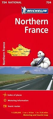 Northern France - Michelin National Map 724 (Michelin National Ma. 9782067200067