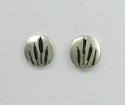 Far Fetched Sterling Silver Cat Tails Post Earrings