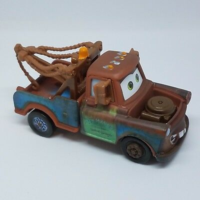 Disney Pixar World of Cars 3 Mater Brown Tow Truck NEW 1:55 Loose No Pack