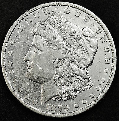 1879-o Morgan Silver Dollar.  High Grade.  (Inv. A)