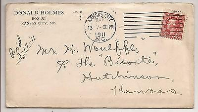 TWO PAGE SIGNED LETTER FROM DONALD HOLMES TO HERMAN HOMAR on Letterhead 1911