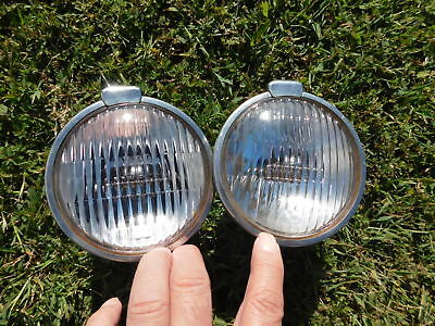 Vintage Perfection foglights 1930's 1940's Chevy Ford Dodge ratrod 1950's