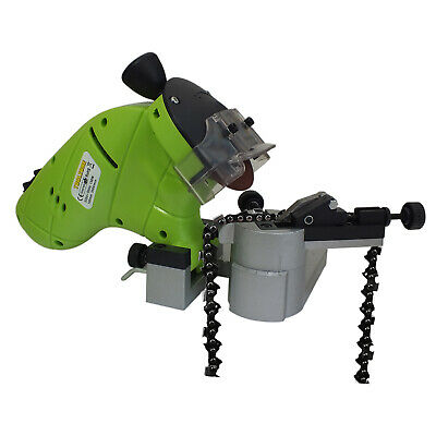 130W Electric Chainsaw Blade Sharpener Bench Mounted Chain Saw 100Mm Grinder