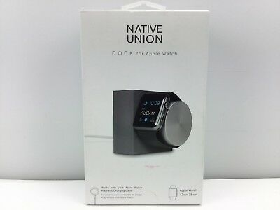 Native Union Weighted Charging DOCK for Apple Watch with Rotating Arm, Slate
