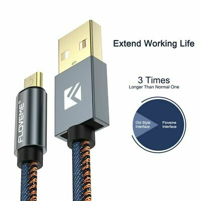 FLOVEME Type C USB Cable Braided Charger Data Cable For Samsung S8 Xiaomi Huawei