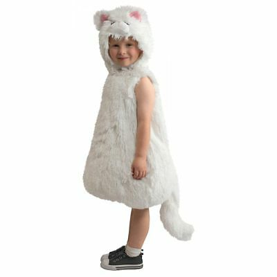 Snowball Kitty Adorable Snow White Kitten Cat Toddler Costume Size 18-24 months  sc 1 st  PicClick & SNOWBALL KITTY ADORABLE Snow White Kitten Cat Toddler Costume Size ...