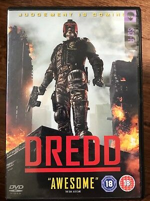 Judge DREDD ~ 2012 2000 AD Comic Adaptation Action Sci-Fi Film | UK Rental DVD