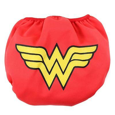 Wonder Woman Swim Diaper Red
