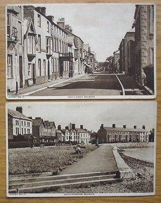 Beaumaris, Anglesey. Castle Street and South Promenade. Published by Tuck 1930s?