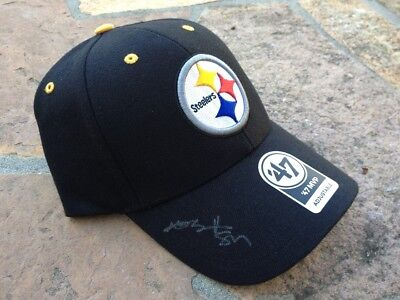 *antonio Brown*signed*autographed*pittsburgh*steelers*hat*cap*coa*football*