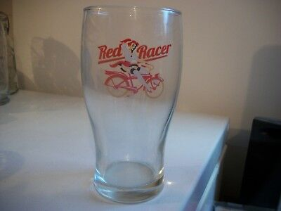 Red Racer.- Beer Glass