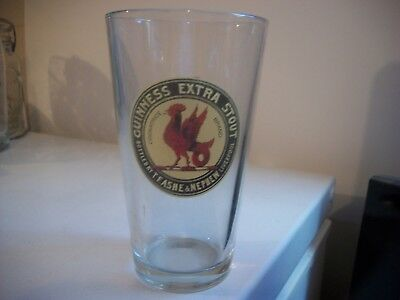 Guinness Extra Stout.- Beer Glass
