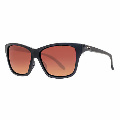 Oakley Hold On OO9298-01 Matte Black Brown Gradient Polarized Women's Sunglasses