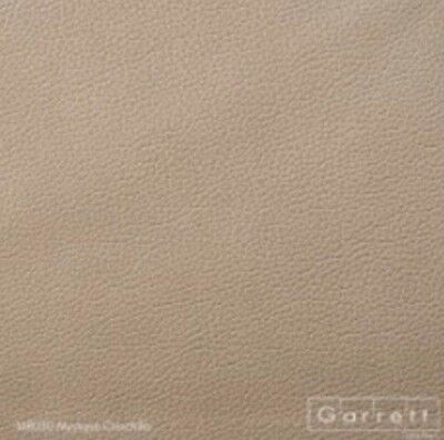 Garrett Italian leather M8030 Mystique chinchilla by the sq.ft.
