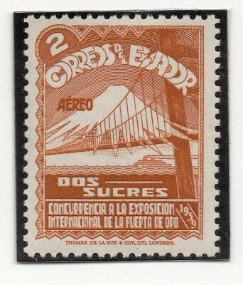 Ecuador 1939 Early Issue Fine Mint Hinged 2S. 170391