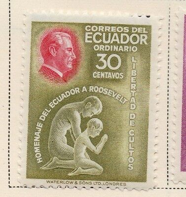Ecuador 1948 Early Issue Fine Mint Hinged 30c. 170454