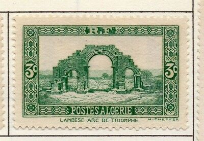 Algeria 1936-41 Early Issue Fine Mint Hinged 3c. 170556