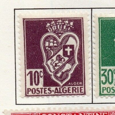 Algeria 1942-45 Early Issue Fine Mint Hinged 10c. 170581