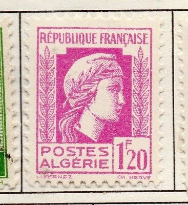Algeria 1944 Early Issue Fine Mint Hinged 1.20F. 170607