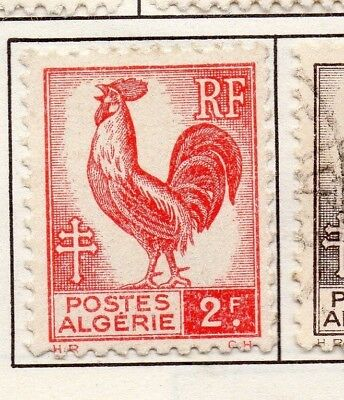 Algeria 1944 Early Issue Fine Mint Hinged 2F. 170609