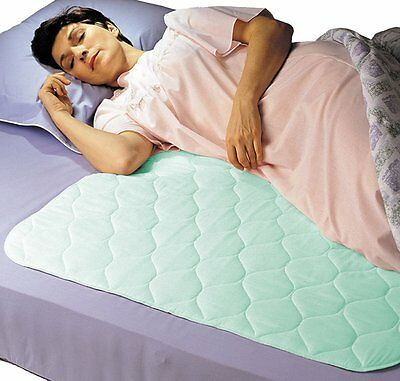 Priva Premium Absorbent Waterproof Sheet Protector With Ultra-Dry Surface, Mint