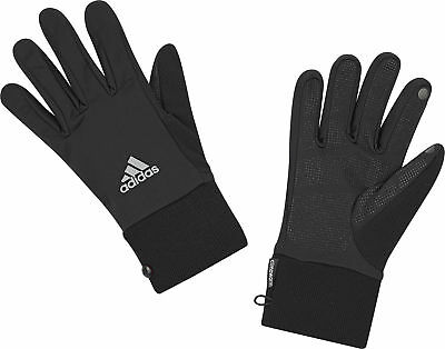 adidas Run ClimaWarm Running Gloves - Black