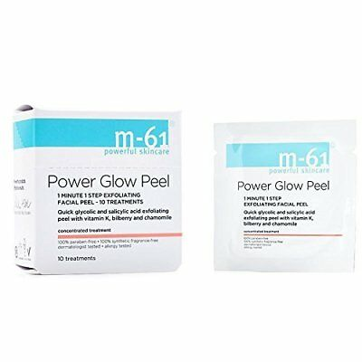 M-61 Power Glow Peel Provides Deep Exfoliation Helps Firm the Skin 10 Treatment