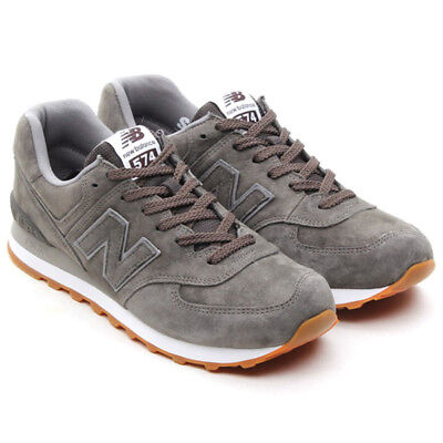 NS. 133605 NEW BALANCE 574 Suede Grey 10