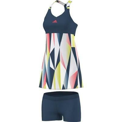 ADIDAS Robe de Tennis Avec Short Steel F16