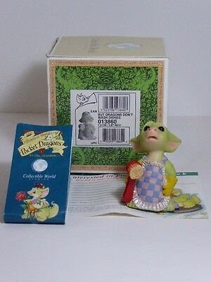 Charming Pocket Dragon Real Musgrave But Dragons Don't Wash Dishes Figure Boxed